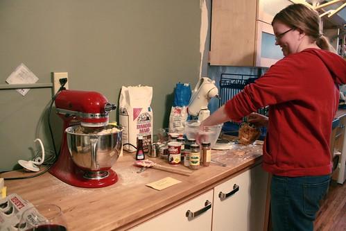 Bertine has two Kitchen Aid mixers!