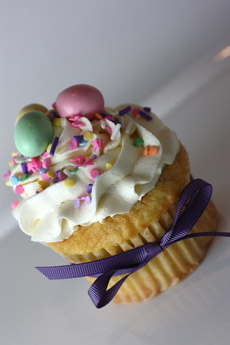 easter cupcakes pictures. Jumbo filled Easter Cupcake