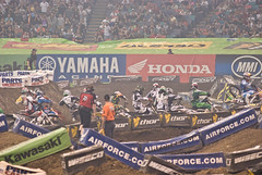 DSC_1430 (krzy4rc) Tags: 2009 supercross superdome