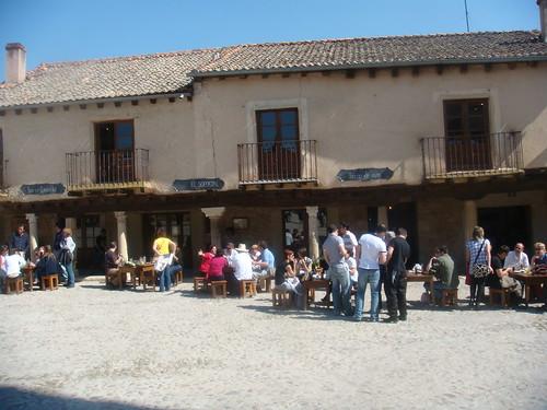 Fachada del Restaurante El Soportal