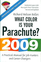 What Color Is Your Parachute? a practical manual for job-hunters and career-changers : 2009 (lwtclearningcommons) Tags: employment jobs career resumes lwtclearningcommons
