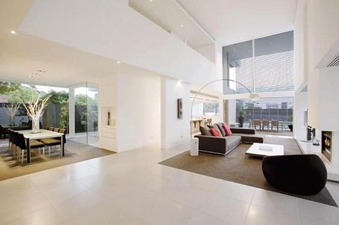 Brighton House minimalist interior photos 8