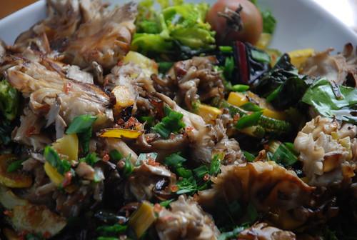plate of veg