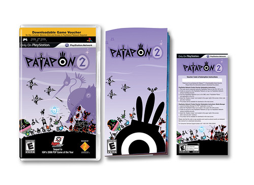 PSP Patapon 2 retail package