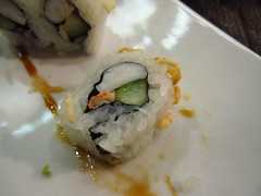 one flew south - crunch roll close up