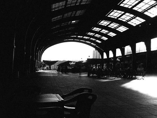 Estación A Coruña negro