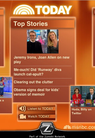 TODAYshow.com Launches iPhone App 1