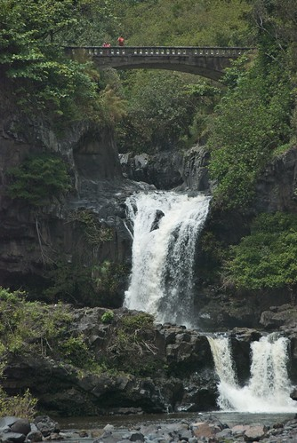 Oheo Gulch at Kipahulu Area of Haleakala National Park