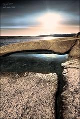 The little pond in the sunset (Staale N) Tags: sunset water norway rock pond risr sild superaplus aplusphoto canoneos40d bildekritikk