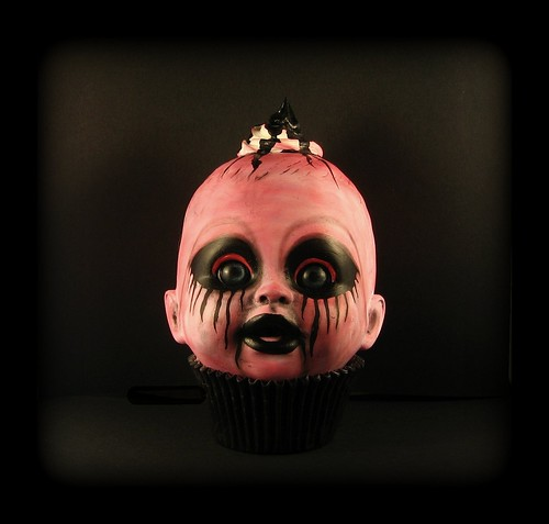 Pickled Pink- Creepy Cupcake Kid