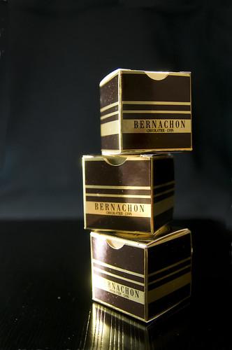 Les Palets D'or, Bernachon, Salond du Chocolat 2009 Tokyo, Shinjuku Isetan