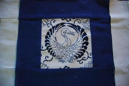 Japanese swan block