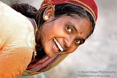May day wishes (Light and Life -Murali ) Tags: india smile eyes women bangalore mayday karnataka teeths