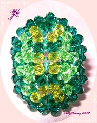 Escarabajo Verde Lima Swa (PattyPammy) Tags: anillos