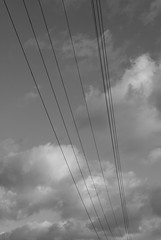Power (just.Luc) Tags: sky bw lines clouds quote wolken nb bn powerlines ciel electricity lucht nuages aristotle citation citaat zw électricité hoogspanningskabels electriciteit aristote aristoteles