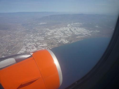 Almeria, Spain to London Gatwick