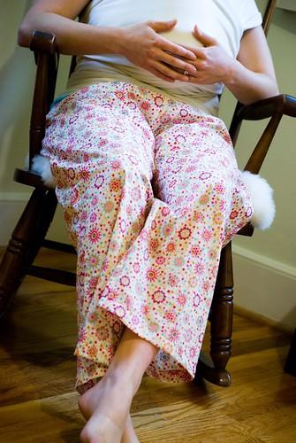 pj pants for everyone ...