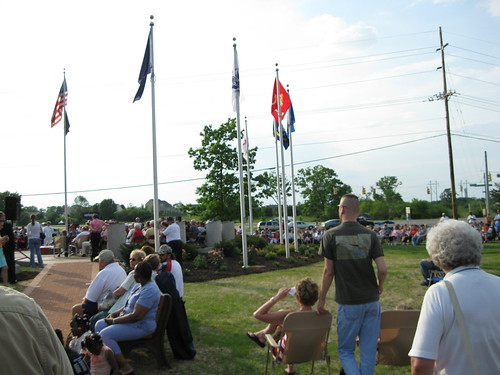 Veterans Memorial in Monroe 215