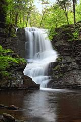 Fulmer Falls (Pear Biter) Tags: waterfall pennsylvania pikecounty delawarewatergap 1635mm gnd dingmanscreek fulmerfalls 5dmkii georgechildsrecreationsite