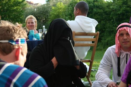 Tusen och en natt fest i Årstaberg