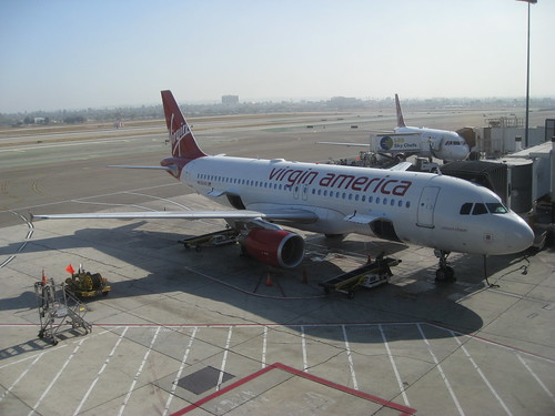Unicorn Chaser - Virgin America at LAX