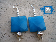 Turchese (gaiosa) Tags: pietra con turchese orecchini