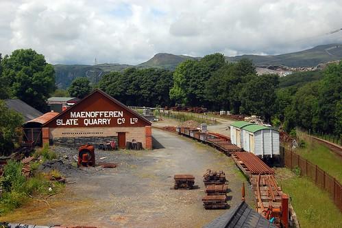 Minffordd Yard