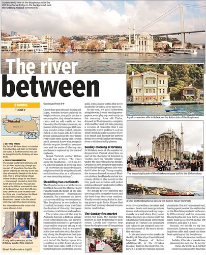 One river, two continents