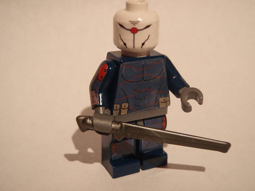 Grey Fox - Metal Gear Solid Ninja custom minifig