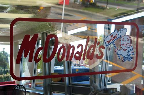 Original McDonald's logo--sold billions