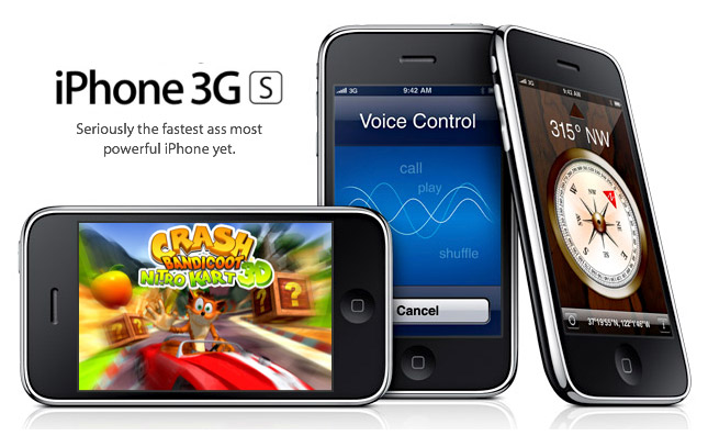 iPhone 3GS: The 'S' Stands For Speed
