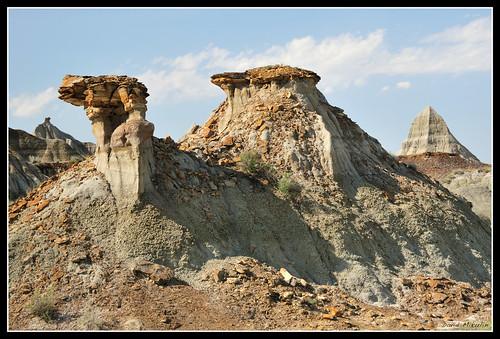 Camel and Pyramid - Dinosaur Provincial Park