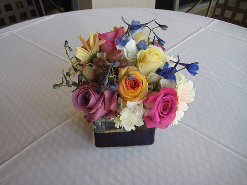 25th wedding anniversary centerpieces