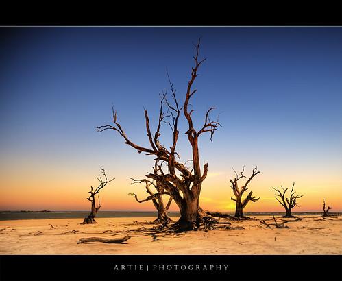 Lake Bonney, South Australia :: HDR