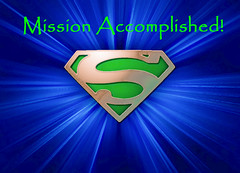 Mission winner medal