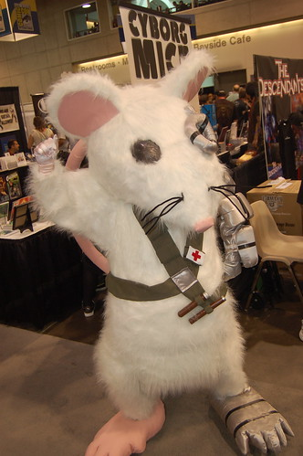 Comic con 2009: Cyborg Mice