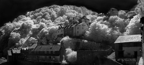 Cloverlly, Devon - Panoramic - Infra Red