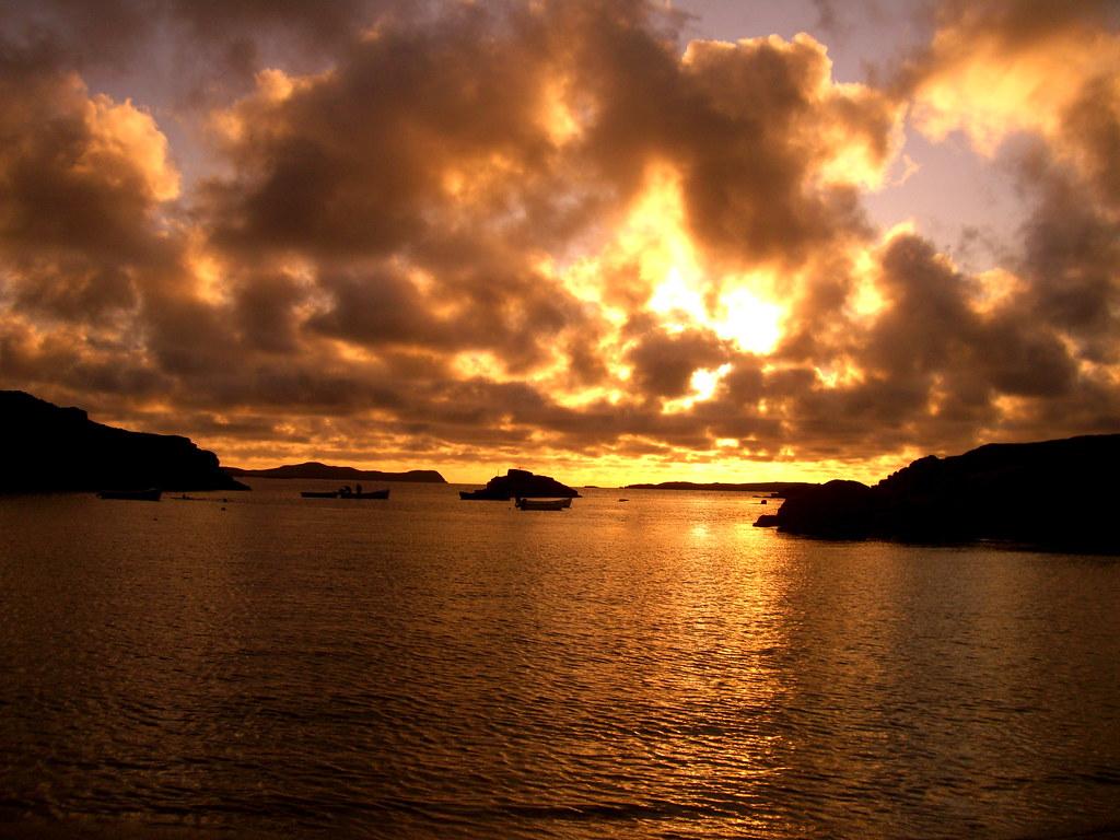 carrickfinn sunset