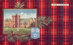 Beafort Castle The Fraser - old postcard