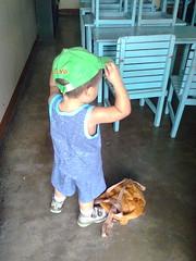 Kasi Saturday pala and walang school...toinks!