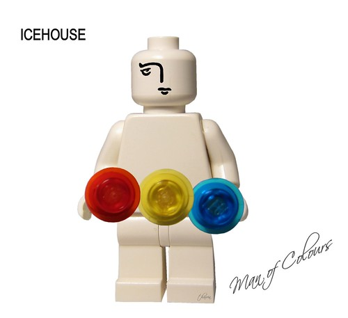 Lego Album Cover - Man of Colours