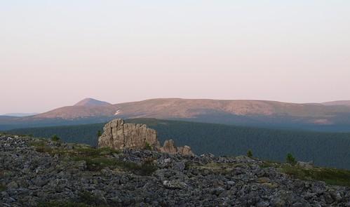 Рассвет на плато Маньпупунер