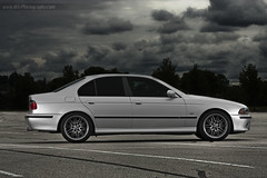 E39 M5 from Hell! (dkfx photography) Tags: storm clouds bmw m5 tails hella smoked tailights titaniumsilver e39 tisi