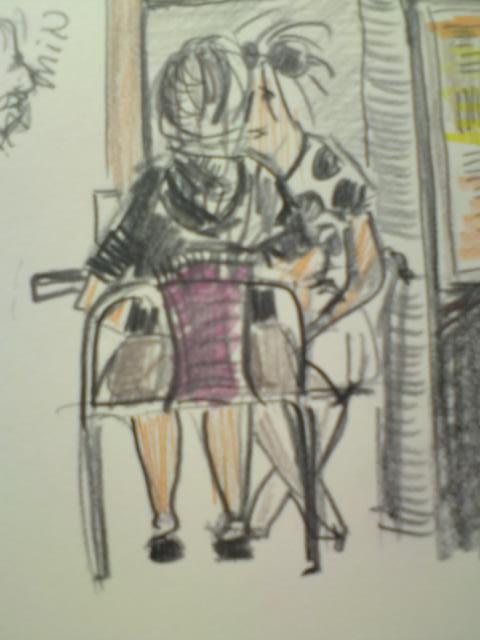 Anettes café skitse