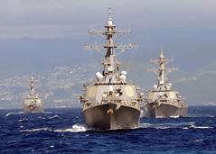 [フリー画像] 乗り物, 船・船舶, 軍用船, 駆逐艦, アメリカ海軍, 201010262300
