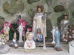 Shrine Statues (edenpictures) Tags: nyc newyorkcity ny newyork shrine mary jesus statues figurines statenisland virginmary naturepreserve mountloretto