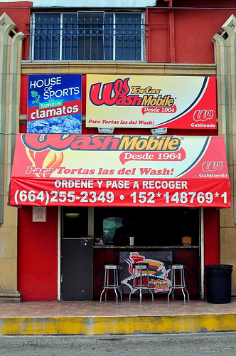 Tortas Wash Mobile - Tijuana
