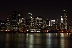 Magic city (bizzo_65) Tags: new york bridge usa newyork apple brooklyn night america skyscraper landscape big ponte grattacielo bigapple