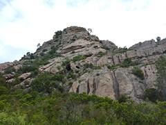 Col Sud du Castellacciu : Punta di u Castellacciu face S