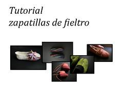 Tutorial zapatillas o pantuflas de fieltro (Felt_me) Tags: tutorial zapatillas fieltro feltslipperstutorial
